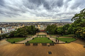 View from Montmartre Hill